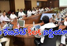 Chandrababu take Decisions in AP Cabinet Ministers meeting