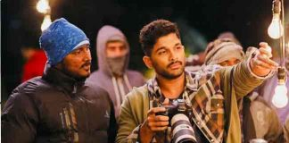 Naa Peru Surya shooting at Indo-Pak border