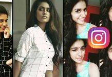Priya Prakash Varrier Earning 8 Laks Per One Post In Instagram