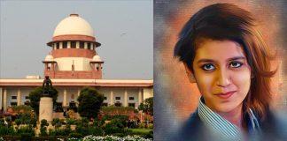 Priya Prakash Varrier Seeks Supreme Court To Stay Criminal Proceedings