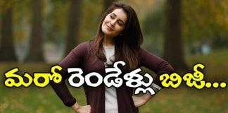 Rashi Khanna to act in Nitin Satish Vegesna movie