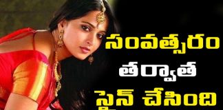 Anushka Signs For New Movie In Gautham Menon Direction After 1 Year