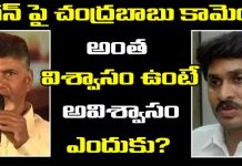 Chandrababu Comments On Ys Jagan Over No-Confidence Motion