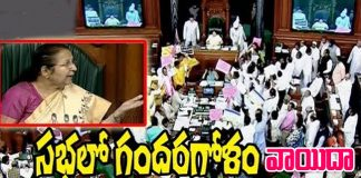 Parliament Postponed again due to AIADMK and TRS MP's Protest