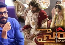 Ram Charan Agree For Budget For Syeraa Narasimha Reddy Movie