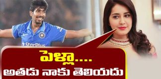 Rashi Khanna clarity about love affair with Cricketer Bumrah