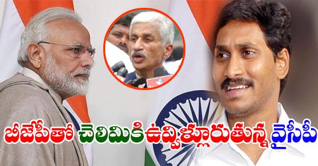 YSRCP MP Vijayasai Reddy spoke In Favor Of BJP
