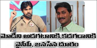 YSRCP and Janasena did not attends all Party Meeting
