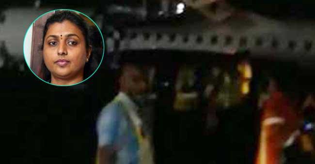 indigo flight tyre burst during landing time at Hyderabad airport