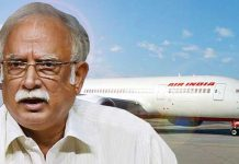 Air India leaves Ashok Gajapathi Raju Luggage at Delhi airport