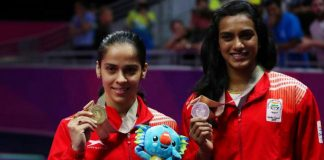 India is at third place with 66 medals in CWG 2018