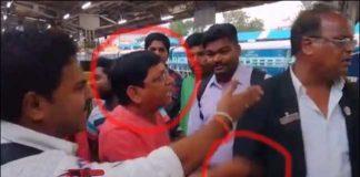 Jabardasth Shaking Seshu team attack on Railway TC