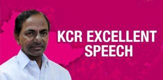 KCR speech in TRS Plenary meeting