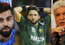 Kohli and Javed Akhtar Responds to Afridi Comments