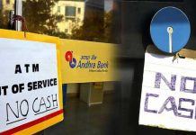 No cash boards back at ATMs in India