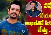 Ram Gopal Varma another time announces film with Akhil Akkineni