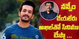 Ram Gopal Varma another time announces film with Akhil Akkineni