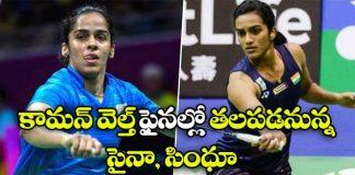Saina Nehwal vs PV Sindhu CWG 2018 badminton final match
