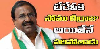 Somu Veerraju to Become AP BJP President says, Manikyala Rao