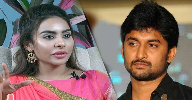Sri Reddy Controversy comments on Natural Star Nani