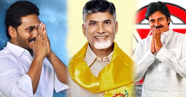 TDP YSRCP and Janasena Fight against Modi Over AP Special Status