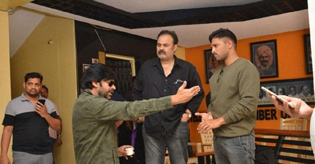 The reason behind Pawan Kalyan visits the Film Chamber