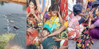 tractor accident nearly ten members died at Nalgonda