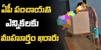 AP Panchayat elections date finalized