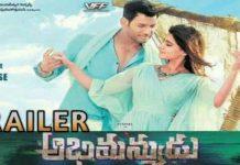 Abhimanyudu Trailer