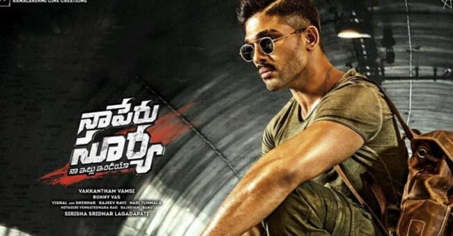 Allu Arjun Na Peru Surya 40 Crores Gross Collections On First Day