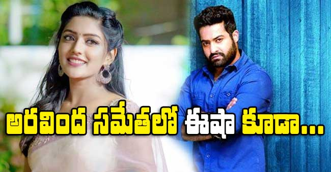 Eesha Rebba acts in NTR Aravinda Sametha Veera Raghava movie