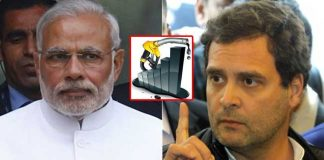 Rahul Gandhi comments on modi over Petrol and Diesel Rates