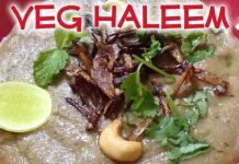 Vegetarian Haleem Recipe in Homemade