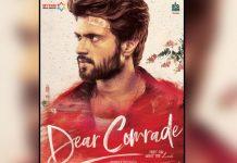 hero vijay devarakonda next movie title dear comrade.