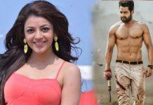 kajal agarwal in NTR aravind sametha movie