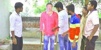 Akkineni Fans Palabhishekam To Ram Gopal Varma Cutout