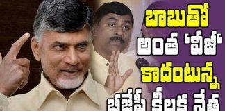 BJP leader Muralidhar Rao comments on Chandrababu