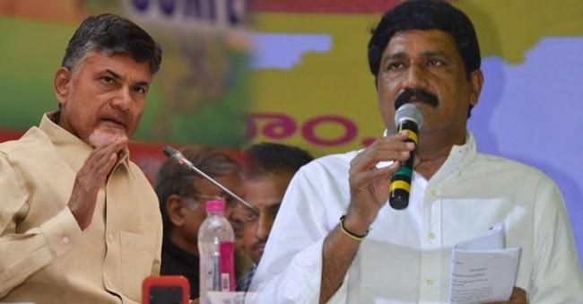 Ganta Srinivas comments on CM Ramesh and BTech Ravi Hunger Strike