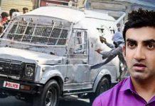 Gautam Gambhir Comments on Kashmir Stone Pelting