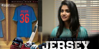 Keerthi Suresh in Nani Jersey Movie
