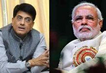 Piyush goyal controversial comments on visakha railway zone