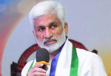 Vijaya Sai Reddy tongue slip heats up Politics in YSRCP