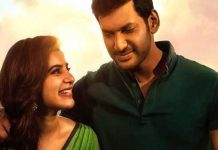 Vishal Is Happiness And Also Sad because Abhimanyudu Movie