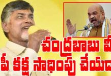 is bjp trying to corner chandrababu