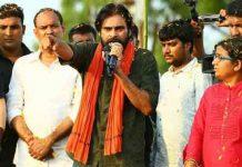 pawan kalyan tweets on ap govt At porata Yatra