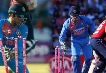 Dhoni gets no 1 place in Stumping in T20 International