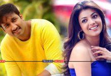 Gopichand Next Movie Heroine kajal in Kumar Sai Direction