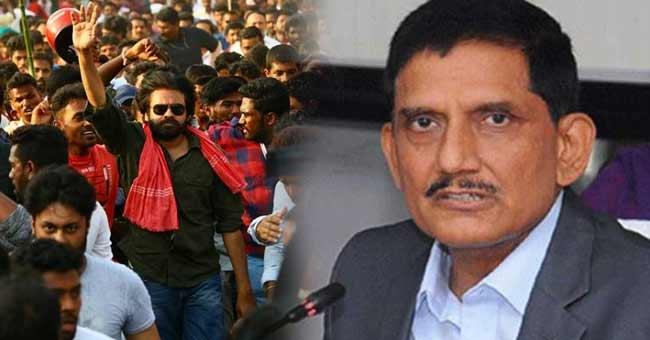 Janasena Leaders meets AP DGP Thakur for Pawan kalyan Security
