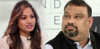Madhavi Latha comments on Kathi Mahesh