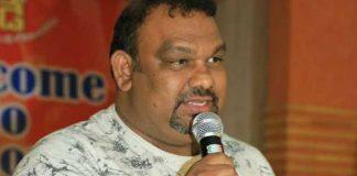 Police stop Kathi Mahesh press meet